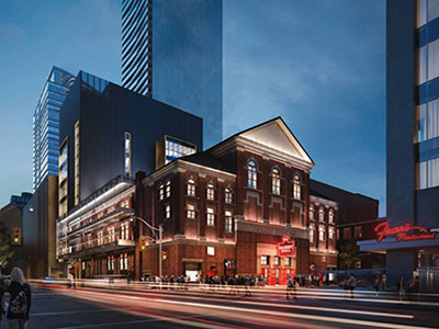 Massey Hall will soon enough look a lot different