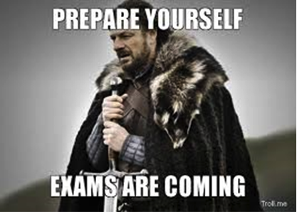 prepare yourself exams are coming
