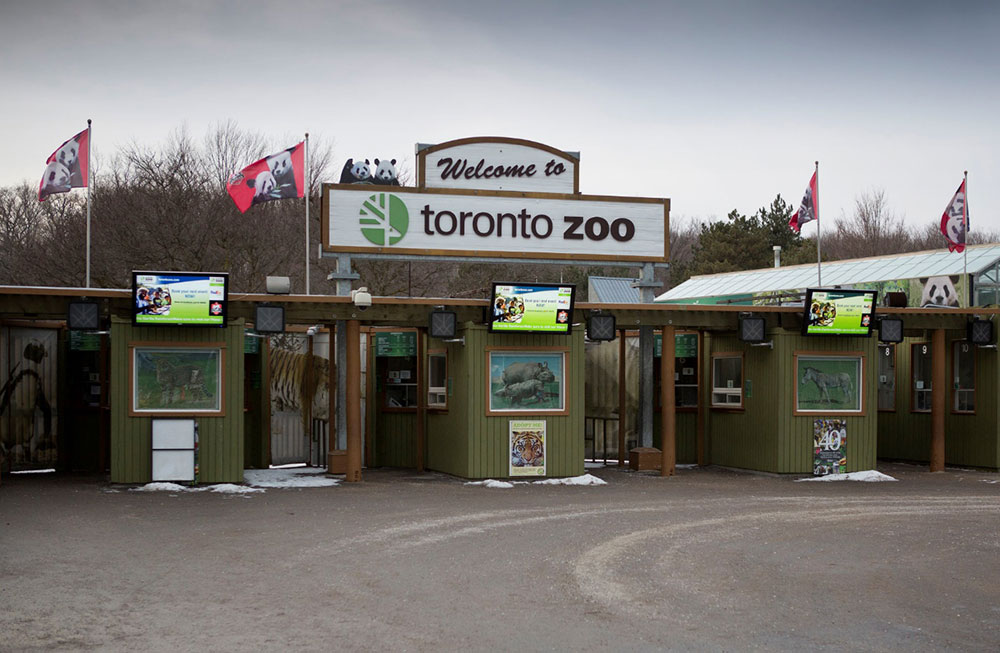 zoo front entrance